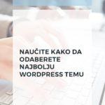 WordPress teme: kako da odaberete najbolju