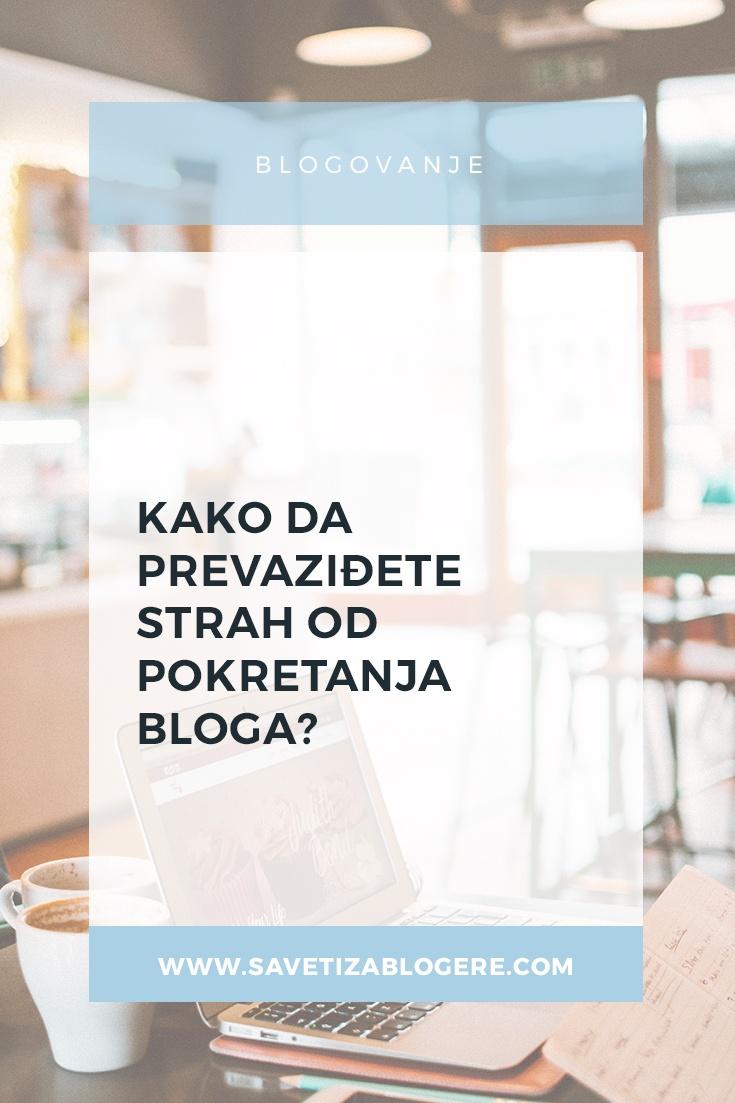 strah od pokretanja bloga