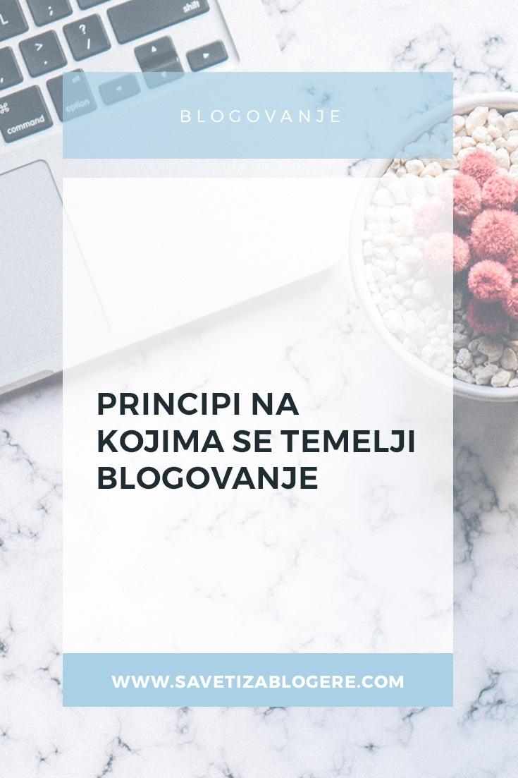 Blogovanje i principi na kojima se temelji