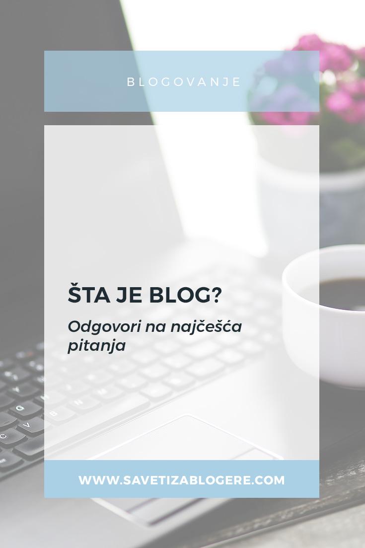 Šta je blog